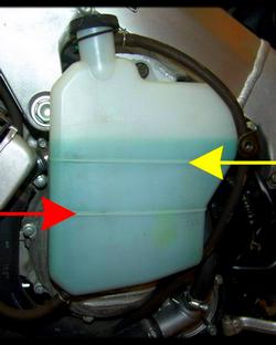 Ajouter liquide de refroidissement